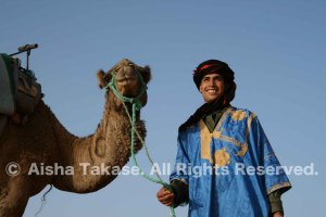 サハラ砂漠メルズーガのベルベル人